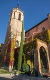 St Stephen kyrka av Granollers Arkivbild