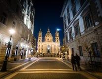 St Stephen kyrka i Budapest, Ungern Royaltyfri Bild