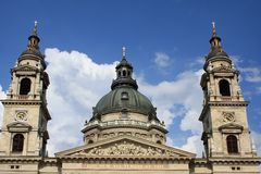 St. Stephen's Basilica Royalty Free Stock Images