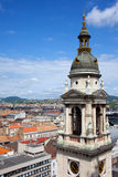 St Stephen's Basilica Bell Tower in Budapest Royalty Free Stock Photos
