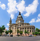 St Stephen's Basilica, Budapest. A picture of St. Stephen's Baslica, one of the largest churches of Budapest Royalty Free Stock Photo