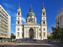 St. Stephen's Basilica in Budapest Royalty Free Stock Image