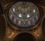 St. Stephen's Basilica in Budapest. Stock Photo