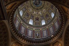St. Stephen's Basilica in Budapest. Royalty Free Stock Photography
