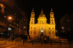 St. Stephen´s  Basilica in Budapest Royalty Free Stock Photo