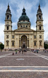 St. Stephen's Basilica in Budapest, Hungary Stock Photos