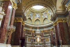 St. Stephen's Basilica in Budapest, Hungary Stock Image
