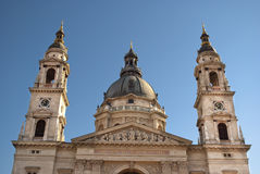 St. Stephen's Basilica in Budapest, Hungary Royalty Free Stock Images