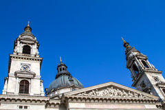St. Stephen´s Basilica Royalty Free Stock Photo