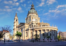 St. Stephen's Basilica in Budapest, Hungary Stock Images