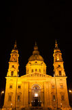 St. Stephen's Basilica in Budapest Stock Image