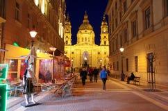 St. Stephen s Basilica Budapest Hungary Stock Photos