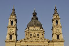 St Stephen's Basilica, Budapest, Hungary Stock Photography