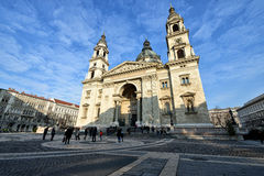 St. Stephen's Basilica, Budapest Royalty Free Stock Images