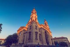 St. Stephen`s Basilica catholic church Stock Photos