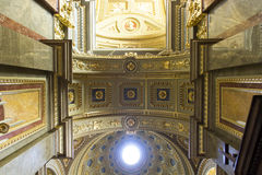 St. Stephen's Basilica, ceiling Royalty Free Stock Photography
