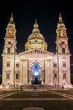 St. Stephen's Basilica. Facade of St. Stephen's Basilica Royalty Free Stock Images