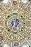 St. Stephen's Basilica, god mosaic royalty free stock photo
