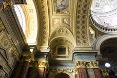St. Stephen's Basilica, indoor shot Royalty Free Stock Images