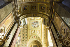 St. Stephen's Basilica interior Royalty Free Stock Photography