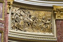 St. Stephen's Basilica, interior details Stock Photos
