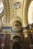 St. Stephen's Basilica interior with mosaic Stock Photos