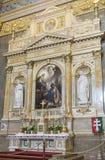 St. Stephen's Basilica, interior shot Stock Photo