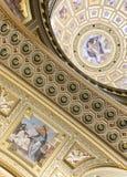 St. Stephen's Basilica, Jesus and God mosaics Royalty Free Stock Image