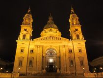 St. Stephen's Basilica stock images