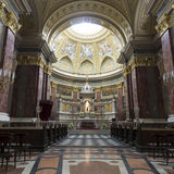 St. Stephen's Basilica, panorama of central part Royalty Free Stock Images