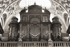 St. Stephen's Basilica, pipe organ Royalty Free Stock Image