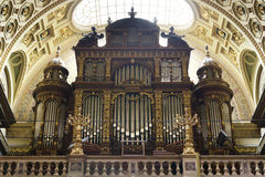 St. Stephen's Basilica, pipe organ Royalty Free Stock Photography