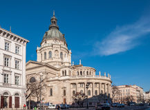 St. Stephen`s Basilica is a Roman Catholic basilica in Budapest, Hungary. Royalty Free Stock Photos