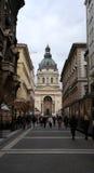 St Stephen`s Basilica. Saint Stephen`s /Istvan Basilica, Roman Catholic basilica in city centre of Budapest, Hungary Royalty Free Stock Photos