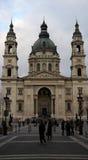 St Stephen`s Basilica. Saint Stephen`s /Istvan Basilica, the roman catholic basilica in the city centre of Budapest, Hungary Royalty Free Stock Photo