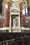 St. Stephen's Basilica, statues of interior Stock Image