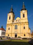 St. Stephen's Basilica in Szekesfehervar, Hungary Stock Images