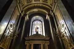 St. Stephen's Basilica, vitrage Royalty Free Stock Image