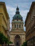 St Stephen ` s Basiliek Boedapest Hongarije royalty-vrije stock afbeeldingen