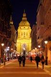 St Stephen s Basiliek Boedapest Hongarije stock foto's