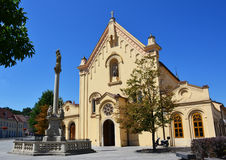 St. Stephen's Capuchin Church Royalty Free Stock Images