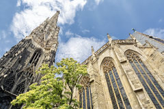 St. Stephen's Cathedral Exterior, Vienna, Austria Royalty Free Stock Images