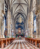 St. Stephen's Cathedral interior, Vienna, Austria Stock Photo