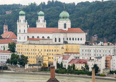 St. Stephen's Cathedral in Passau Stock Images