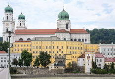 St. Stephen's Cathedral in Passau Stock Photos