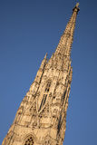St Stephen`s Cathedral - Stephansdom in Vienna Stock Image