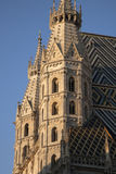 St Stephen`s Cathedral - Stephansdom in Vienna, Austria Stock Photos