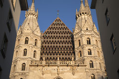 St Stephen`s Cathedral - Stephansdom in Vienna Royalty Free Stock Images