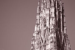 St Stephen`s Cathedral - Stephansdom in Vienna Stock Photo