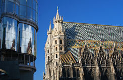 St. Stephen's Cathedral in Vienna Royalty Free Stock Images